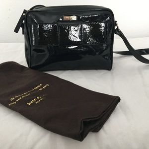 Kate Spade  Black Patent Leather
